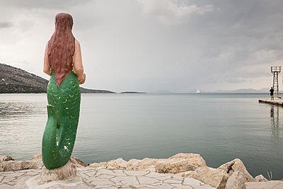 Meerjungfrau - p948m1113075 von Sibylle Pietrek