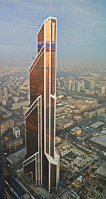Mercury City Tower Moscow - p390m973206 von Frank Herfort