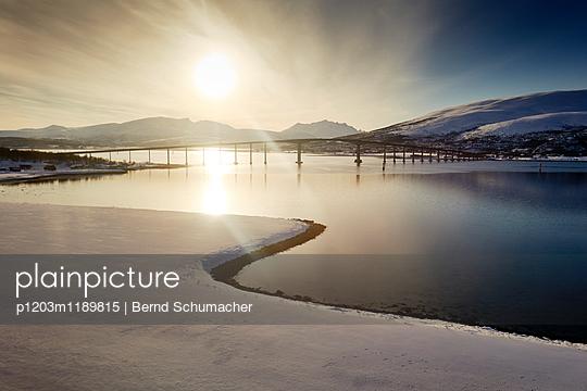 Bridge at Tromsö - p1203m1189815 by Bernd Schumacher