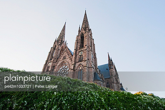 Saint Paul Church, Strasbourg, France - p442m1033721 by Peter Langer