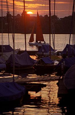 Sonnenuntergang - p0671071 von Thomas Grimm