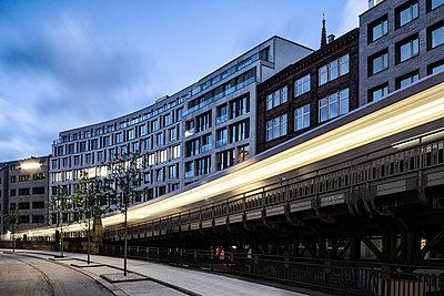 Hamburg, Verkehr - p1222m1462941 von Jérome Gerull