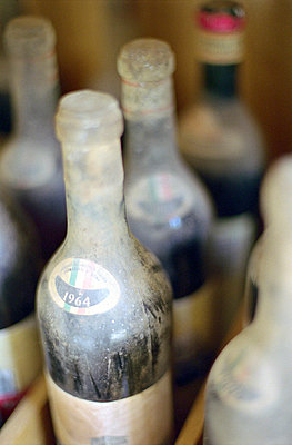 Dusty Bottles of Wine - High-Price Merchandise  - p4901054 by Felbert & Eickenberg