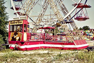 Riesenrad mit Filmkuss - p6560071 von W. Hannes