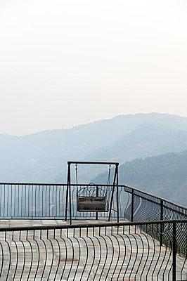 Nepaleische Dachterrasse - p949m948594 von Frauke Schumann