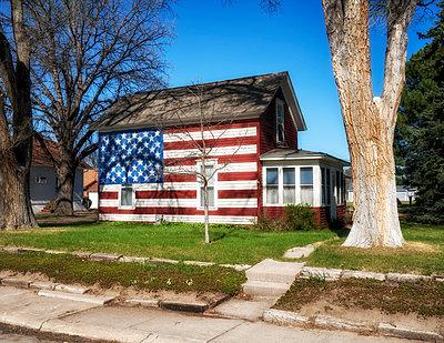 Flag House - p1154m1138981 by Tom Hogan