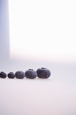 Blueberries - p580m1503125 by Eva Z. Genthe