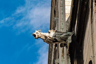 Wasserspeier, Sacré-Cœur de Montmartre - p1332m1502799 von Tamboly
