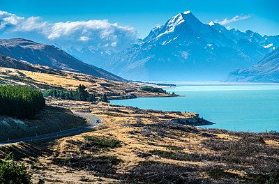 View of Mount Cook - p1275m1132119 by cgimanufaktur