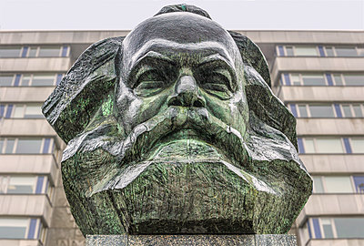 Karl Marx  - p1275m2116274 by cgimanufaktur