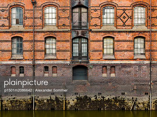 Speicherstadt Hamburg - p1501m2086642 von Alexander Sommer