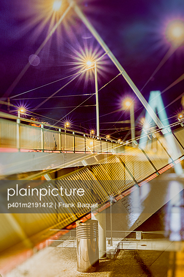 Severinsbrücke Köln - p401m2191412 von Frank Baquet