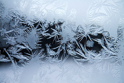 Frost on a window - p4423333f by Design Pics