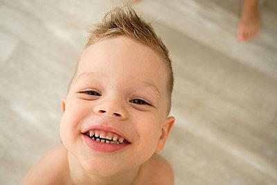 Portrait of happy boy - p1363m2178825 by Valery Skurydin