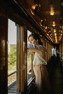 Orient Express Venice to Paris  - p600m2073015 by Laura Stevens