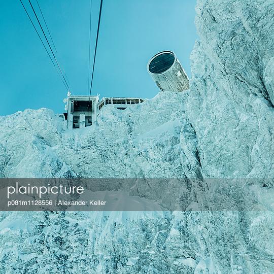 Seibahn im Karwendel - p081m1128556 von Alexander Keller