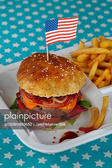 Hamburger - p1028m893652 von Jean Marmeisse