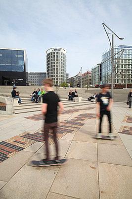 Skater; Hamburg - p4140223 von Volker Renner