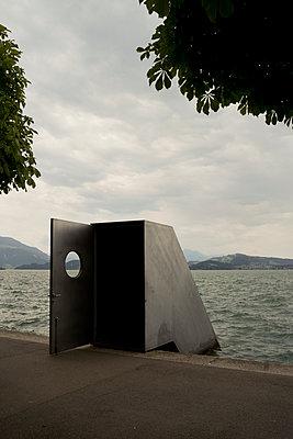 """Art sculpture """"Seesicht"""" in Zug - p470m2244396 by Ingrid Michel"""