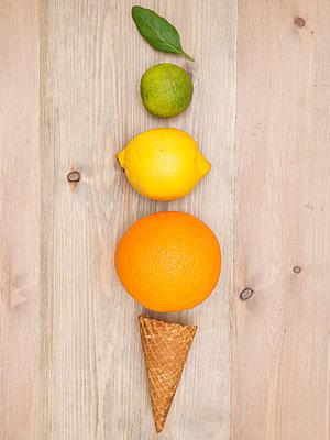 Ice Cream Cone - p1507m2037868 by Emma Grann