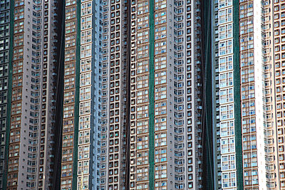 Wall of towers - p664m857084 by Yom Lam