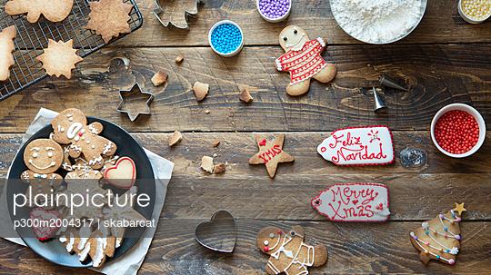 Home-baked Gingerbread Cookies - p300m2004317 von skabarcat