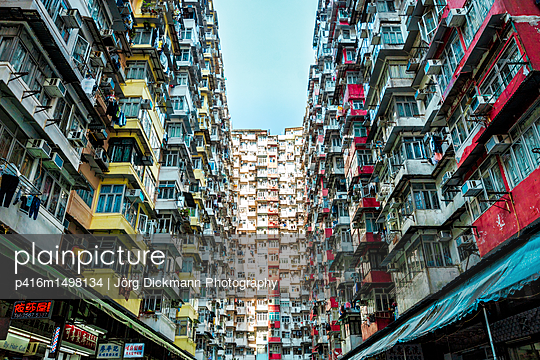 Hongkong - p416m1498134 von Jörg Dickmann Photography