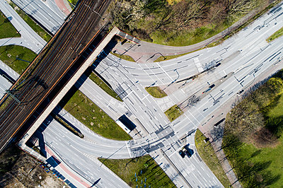 Kreuzung Amsinck- Ecke Billstraße - p1079m2173894 von Ulrich Mertens