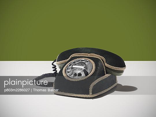 Old telephone - p803m2286027 by Thomas Balzer