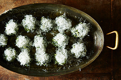Spinach and Ricotta Gnocchi - p1379m1486469 by James Ransom