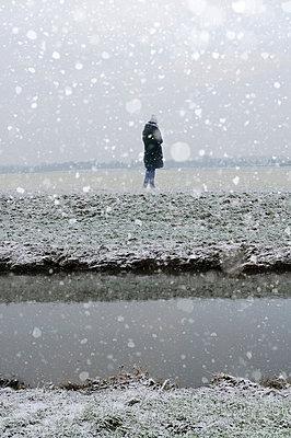 Winter - p470m1004931 by Ingrid Michel