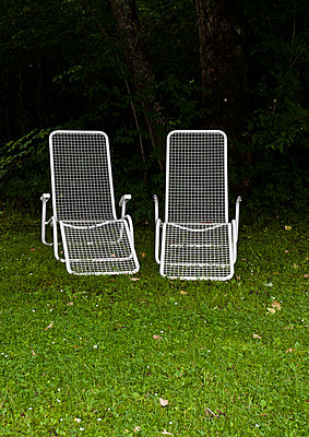 Two deckchairs - p6460311 by gio