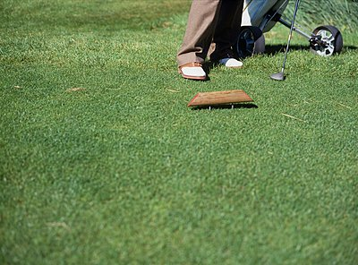 Golf course - p1157m1092969 by Klaus Nather