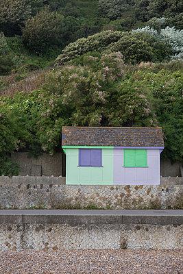 Beach Hut - p1323m1182041 by Sarah Toure