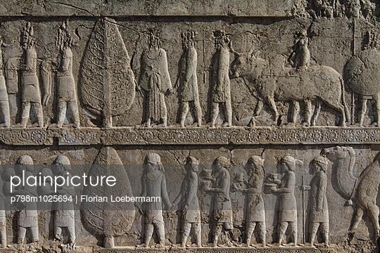Relief in Persepolis - p798m1025694 von Florian Loebermann