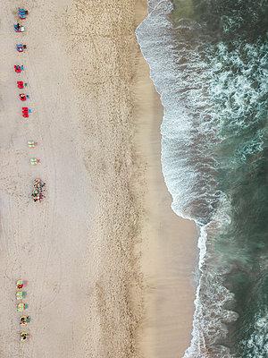Indonesia, Bali, Aerial view of Padma beach - p300m2042431 by Konstantin Trubavin