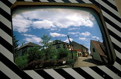 Spiegel im Straßenverkehr - p0190147 von Hartmut Gerbsch