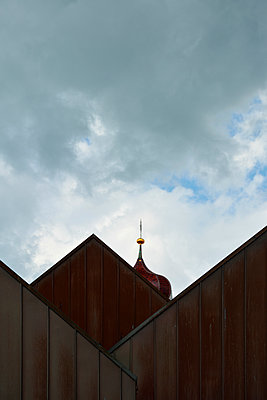 roof-gable and steeple - p876m1502903 by ganguin