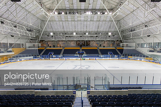 Mattamy Athletic Centre Hockey Rink At The Former Maple Leaf Gardens;Toronto Ontario Canada