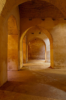 Ancient dungeons for Christians, Meknes, Morocco, North Africa, Africa - p8713675 by Emanuele Ciccomartino