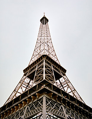 Mini Europe, open-air museum, replica, Eiffel Tower - p1299m2284488 by Boris Schmalenberger