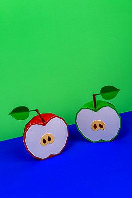 Half apple - p451m2263531 by Anja Weber-Decker