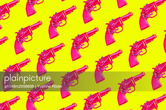 Water gun - p1149m2098898 by Yvonne Röder