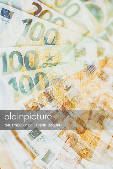 Euro banknotes - p401m2260123 by Frank Baquet