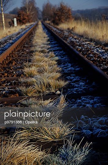 Totes Gleis - p9791388 von Opelka