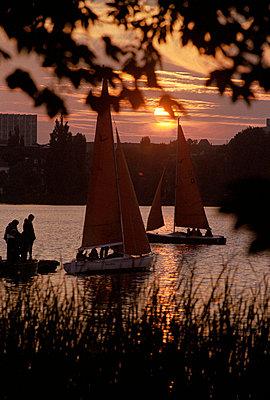 Sonnenuntergang - p0671072 von Thomas Grimm