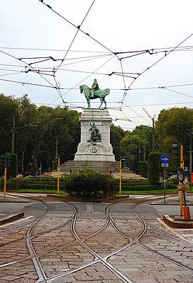 Giuseppe Garibaldi Statue - p526m808382 von Stuart Paton