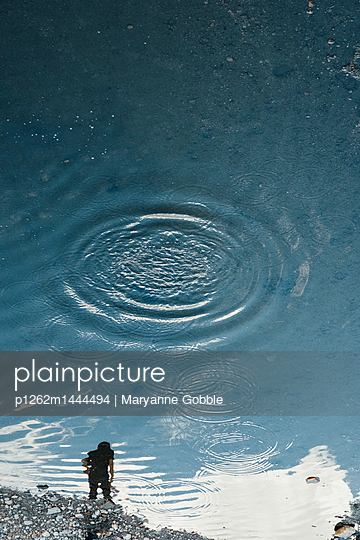 Water Ripples - p1262m1444494 by Maryanne Gobble