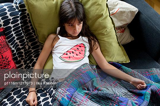 Müdes Kind - p1116m1217073 von Ilka Kramer