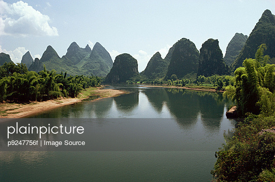 Lijiang river - p9247756f by Image Source